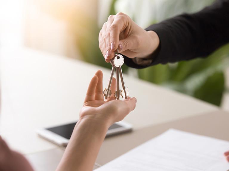Przekazywanie kluczy domieszkania